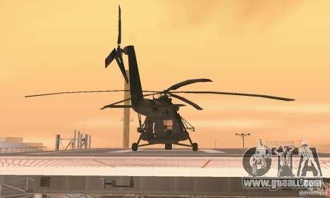 MI-17 for GTA San Andreas inner view