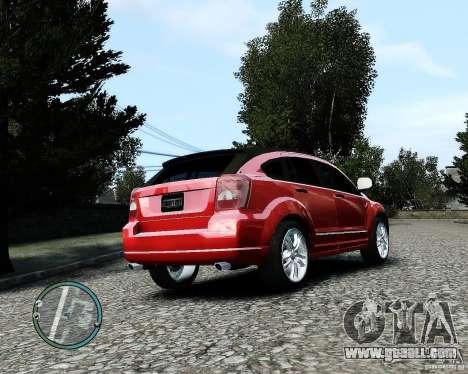 Dodge Caliber for GTA 4 upper view