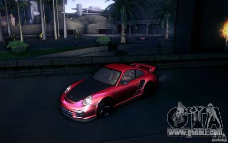 Porsche 911 GT2 RS 2012 for GTA San Andreas inner view