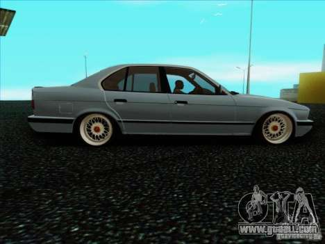 BMW 5 series E34 for GTA San Andreas left view