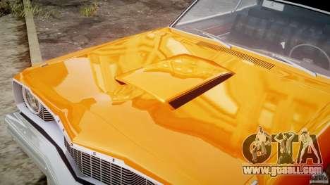 Dodge Dart GT 1975 [Final] for GTA 4 upper view