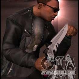 Gta San Andreas Knife Dragon Lord Knife For Gta San