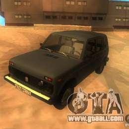 Vaz 2131 NIVA for GTA San Andreas