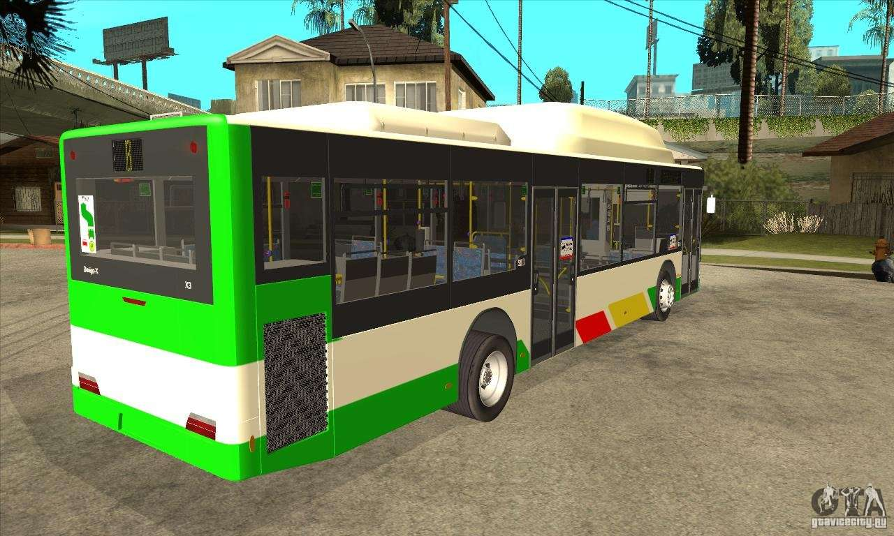 mercedes benz man lions city cng for gta san andreas. Black Bedroom Furniture Sets. Home Design Ideas