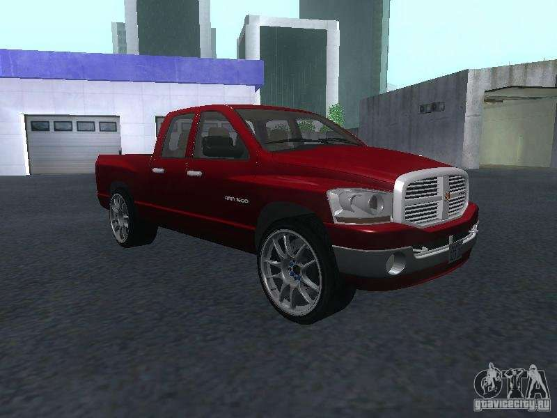 dodge ram    gta san andreas