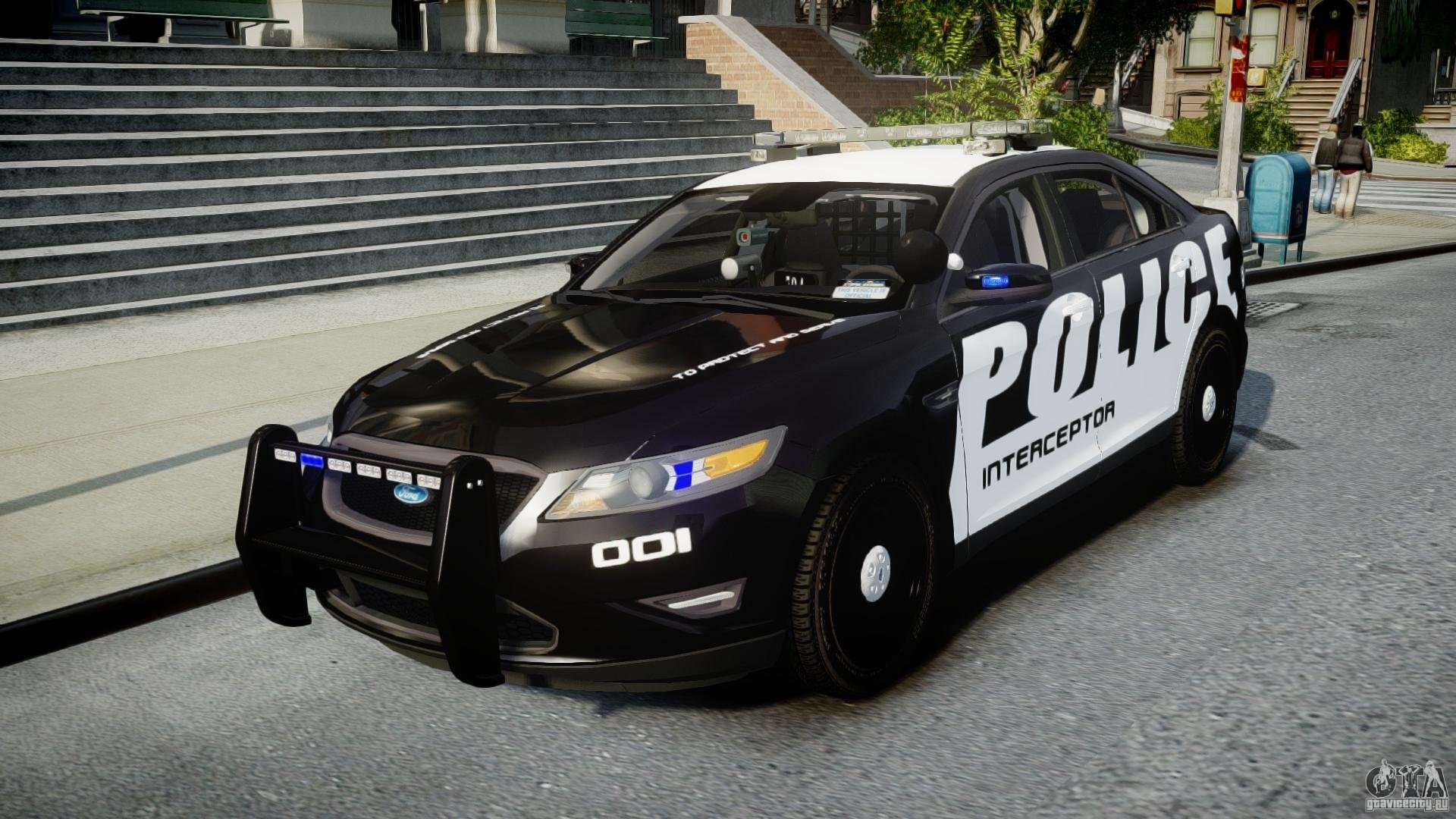 ford taurus police interceptor 2011 els for gta 4. Cars Review. Best American Auto & Cars Review