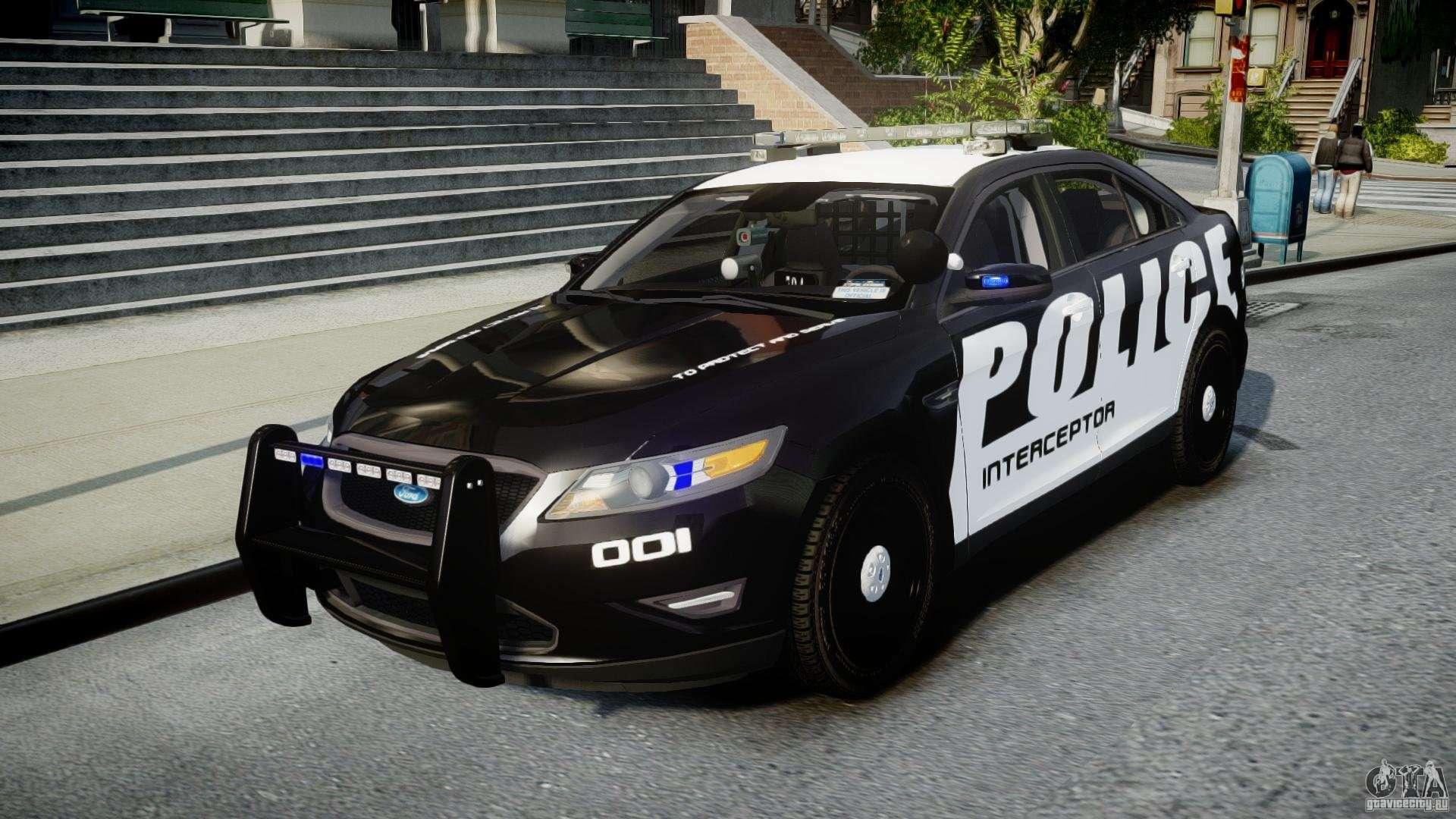 ford taurus police interceptor 2011 els for gta 4. Black Bedroom Furniture Sets. Home Design Ideas