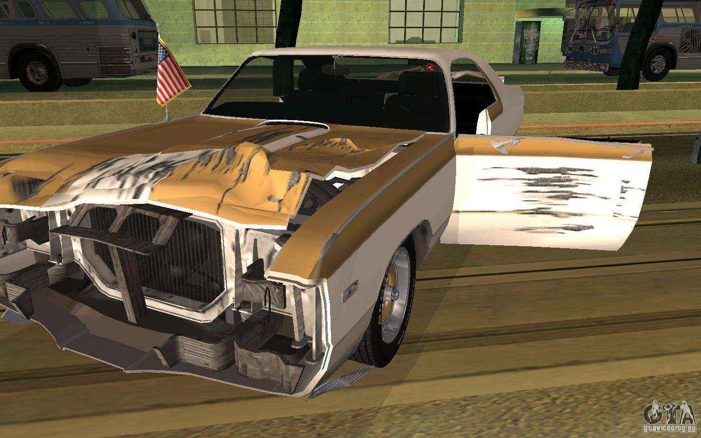1970 Chrysler 300 >> Chrysler 300 Hurst 1970 for GTA San Andreas