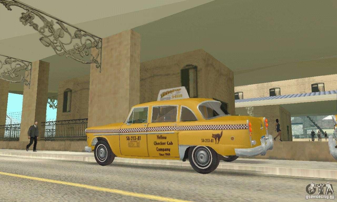 Checker Cab London >> Checker Marathon 1977 Taxi for GTA San Andreas
