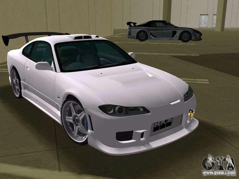 Nissan Silvia Spec R Tuned For GTA Vice City Back View Amazing Design