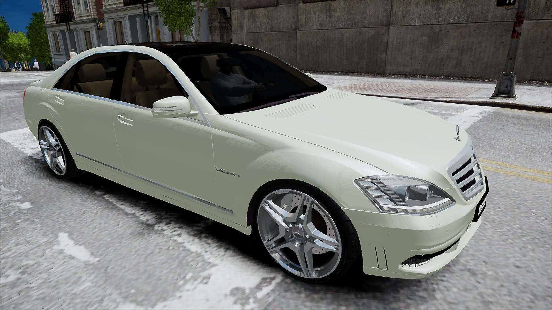 Mercedes benz s65 amg long 2010 for gta 4 for Mercedes benz long