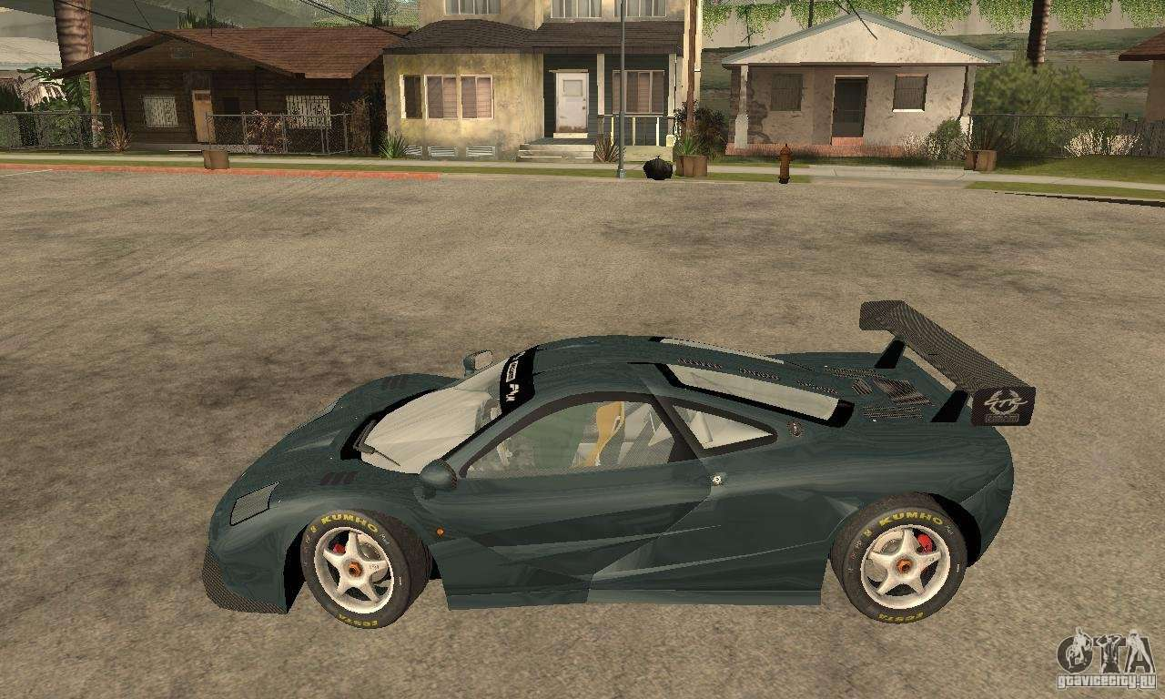 Mclaren F1 LM (v1.0.0) For GTA San Andreas Left View