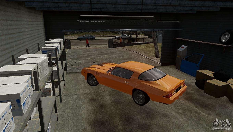 Chevrolet camaro z28 1979 for gta 4 for 1979 camaro z28 interior parts