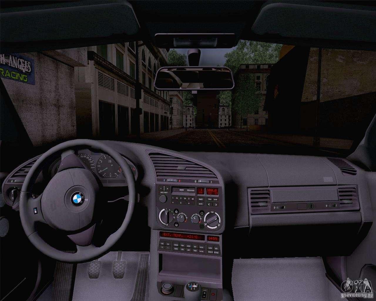Bmw M3 E36 1995 For Gta San Andreas