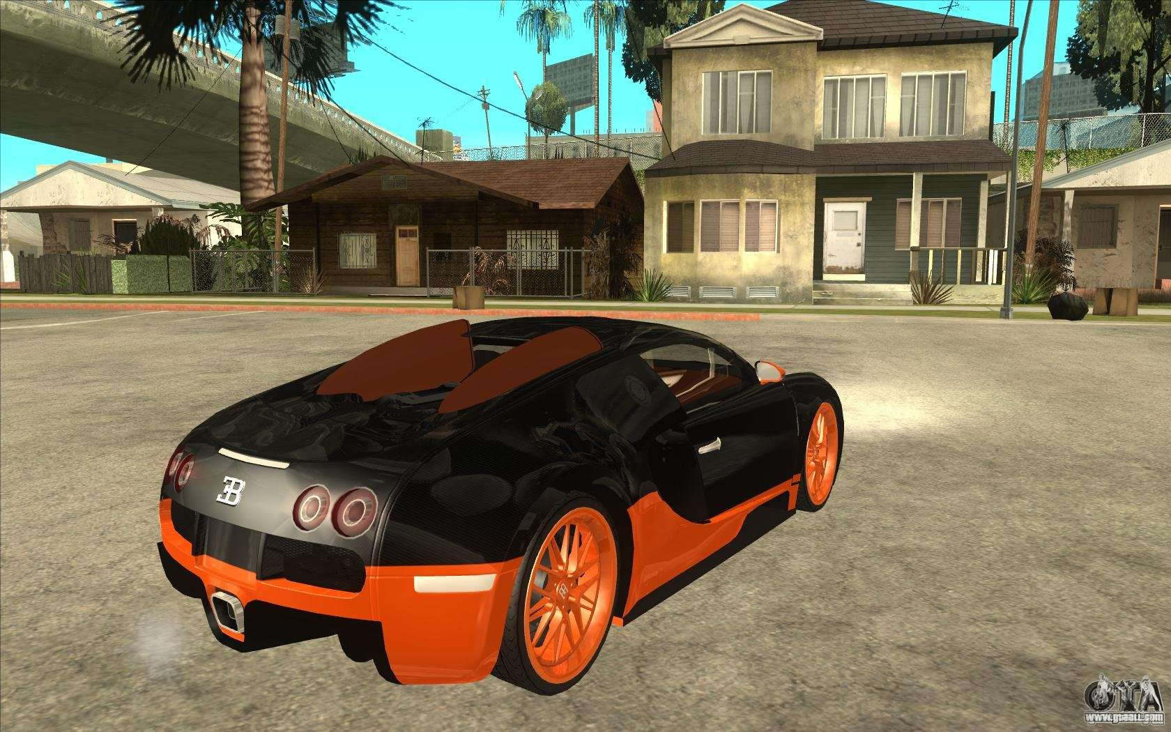 bugatti veyron super sport 2011 for gta san andreas. Black Bedroom Furniture Sets. Home Design Ideas