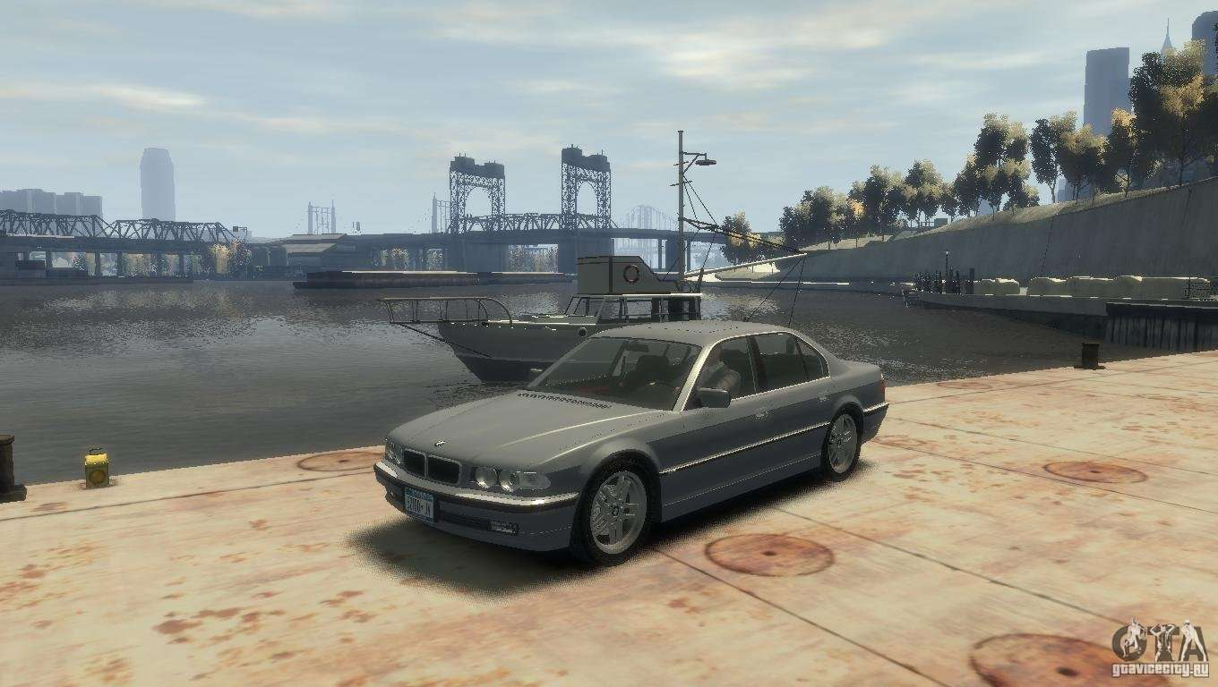 bmw 740i e38 for gta 4. Black Bedroom Furniture Sets. Home Design Ideas