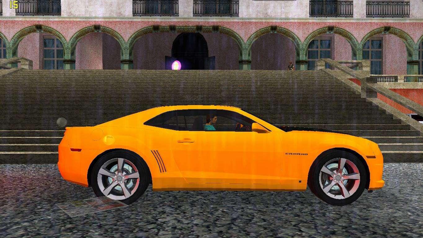 Chevrolet Camaro SS 2010 for GTA Vice City