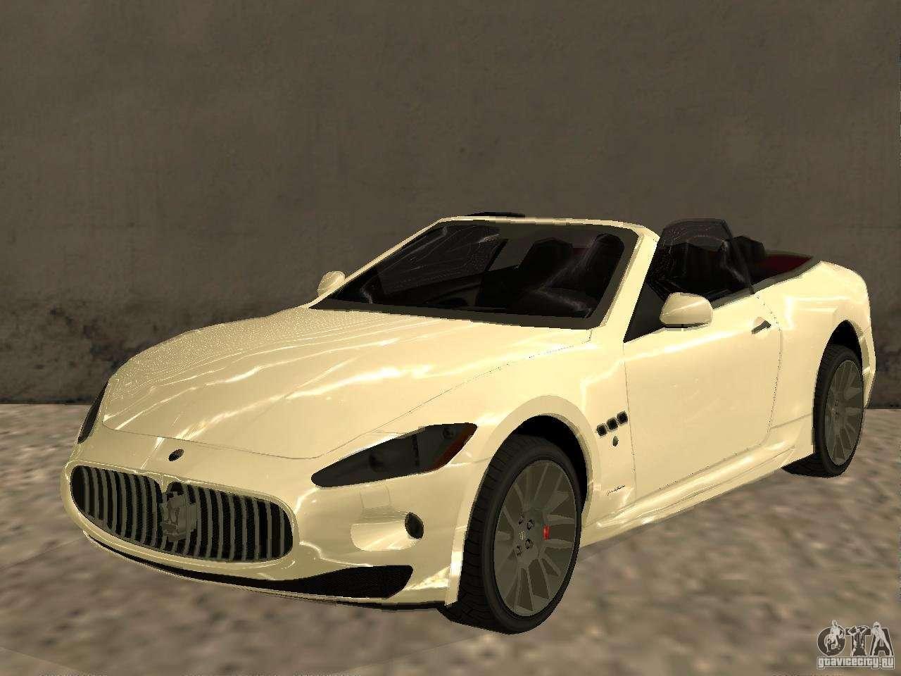 Maserati GranCabrio 2011 for GTA San Andreas