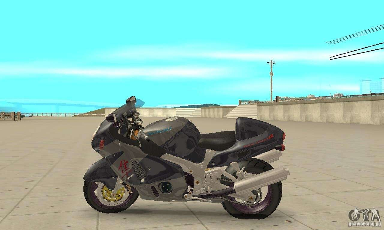 Suzuki GSX1300R Hayabusa for GTA San Andreas left view