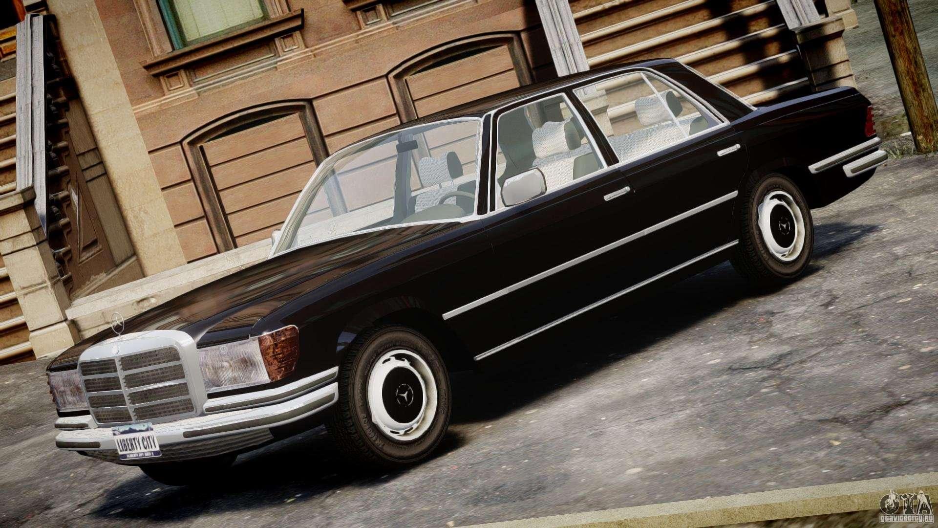 Mercedes benz 280se w116 for gta 4 for Mercedes benz 4 4