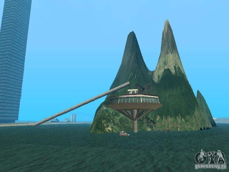 Island Mounth Island On The Water For Gta San Andreas