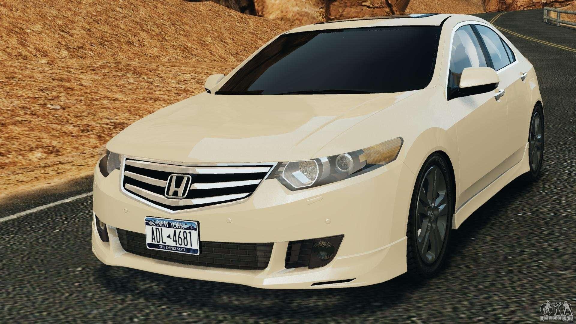 Honda accord type s 2008 for gta 4 for Honda accord type s