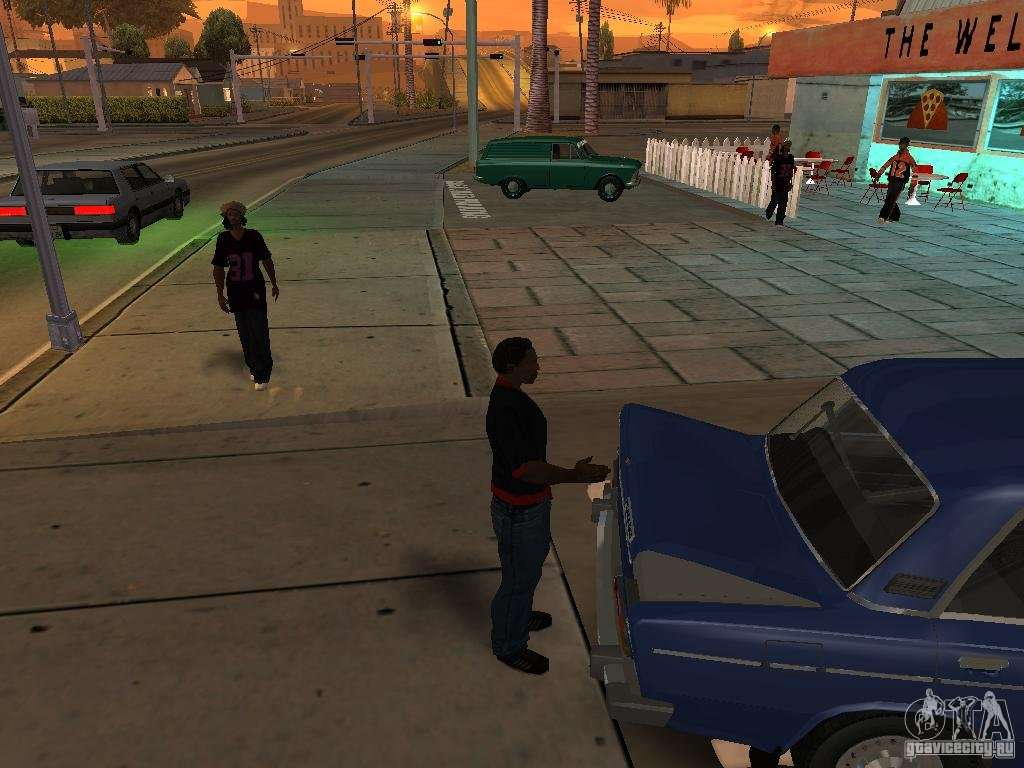 How to open the hood in GTA 20