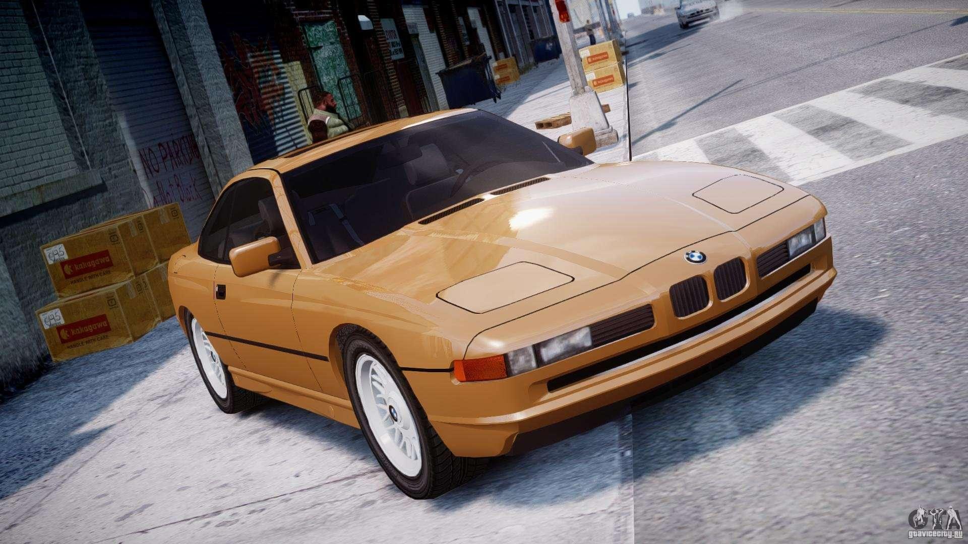Bmw 850i E31 1989 1994 For Gta 4