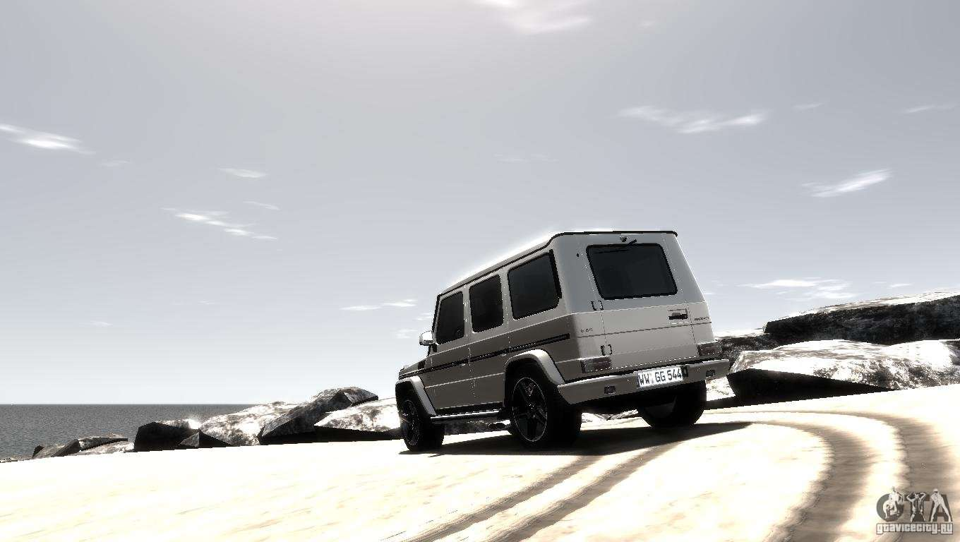 mercedes benz g65 amg w463 2012 for gta 4 back left view