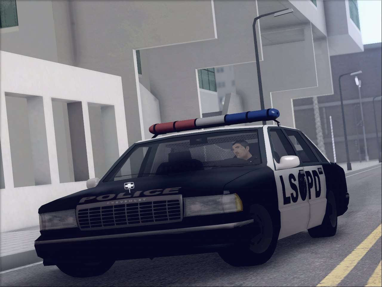 New Police LSPD for GTA San Andreas