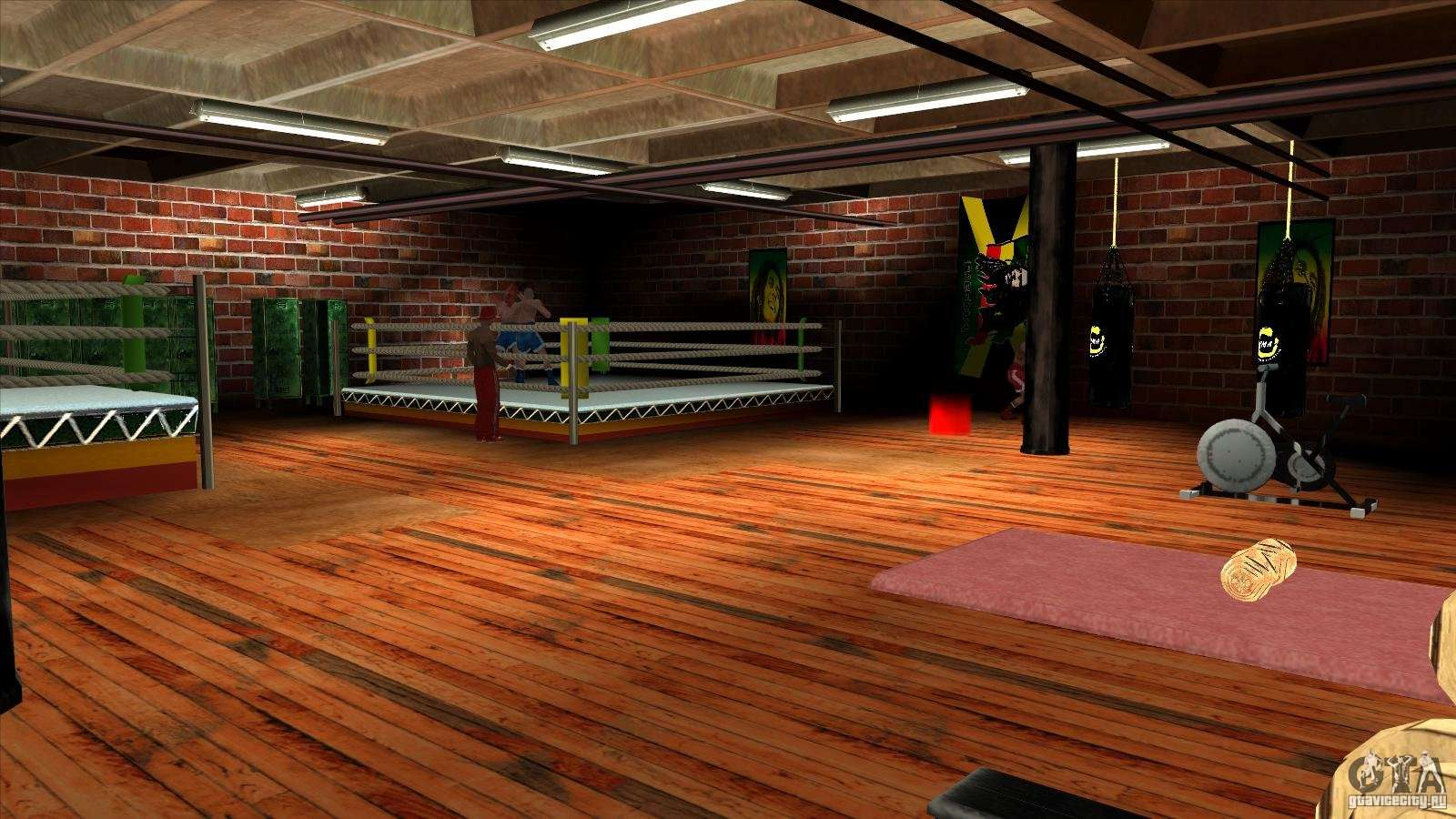Gym For Gta San Andreas