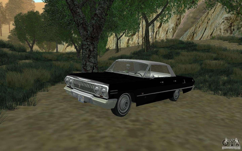 chevrolet impala 4 door hardtop 1963 for gta san andreas. Black Bedroom Furniture Sets. Home Design Ideas