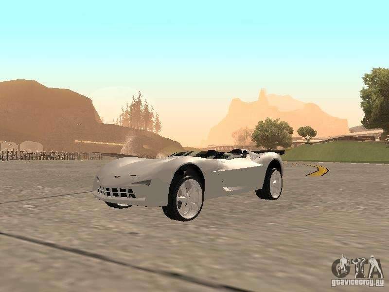 Chevrolet Corvette C7 Spyder For Gta San Andreas