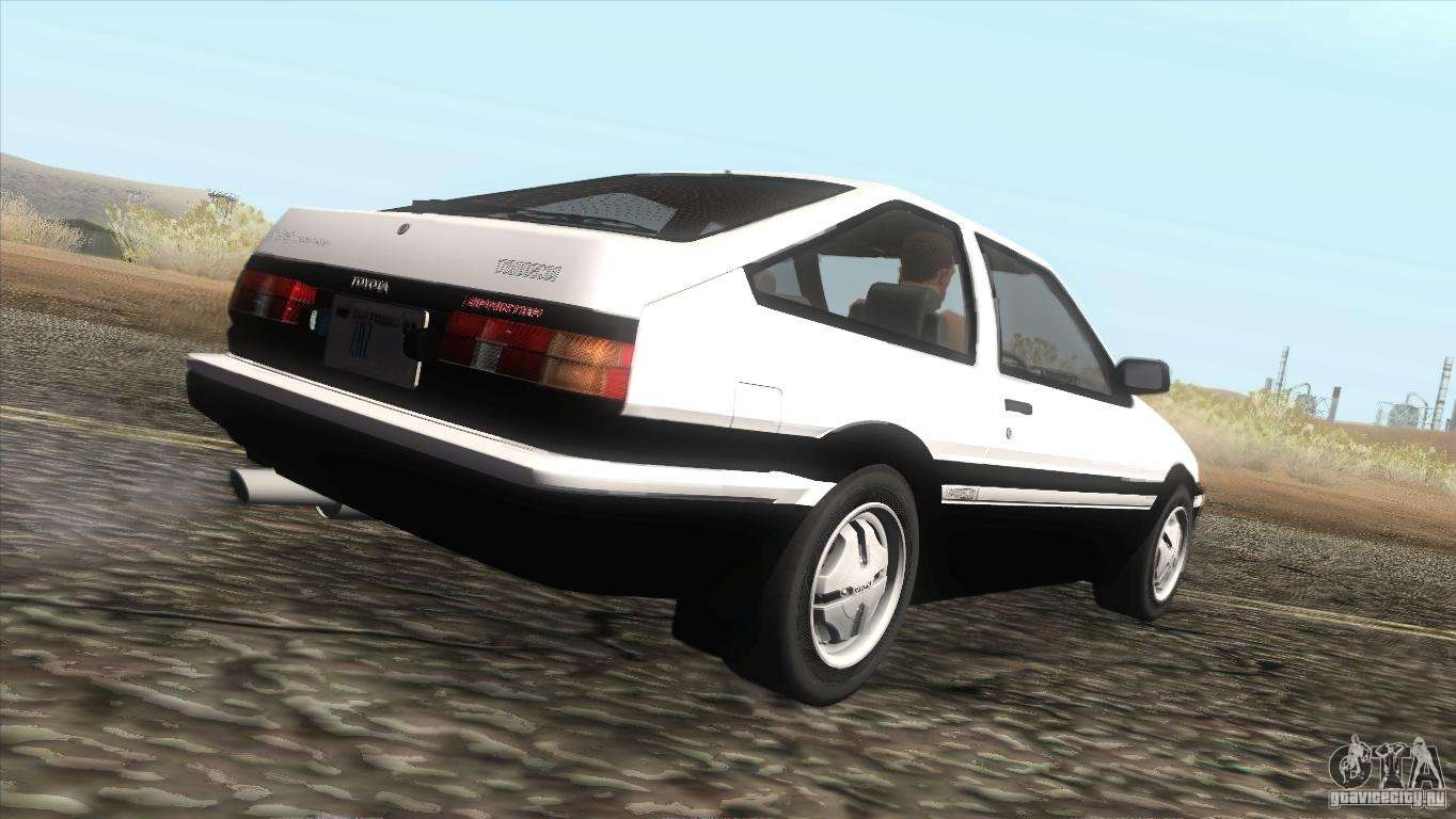 toyota sprinter trueno ae86 gt apex for gta san andreas. Black Bedroom Furniture Sets. Home Design Ideas