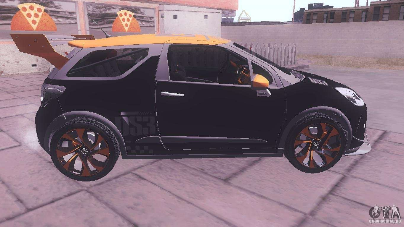 citroen ds3 tuning for gta san andreas. Black Bedroom Furniture Sets. Home Design Ideas