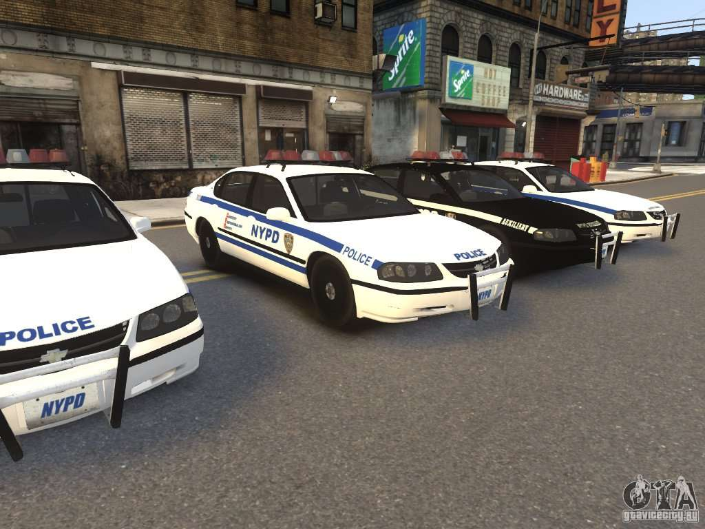 Chevrolet impala 2003 nypd v2 0 for gta 4 left view