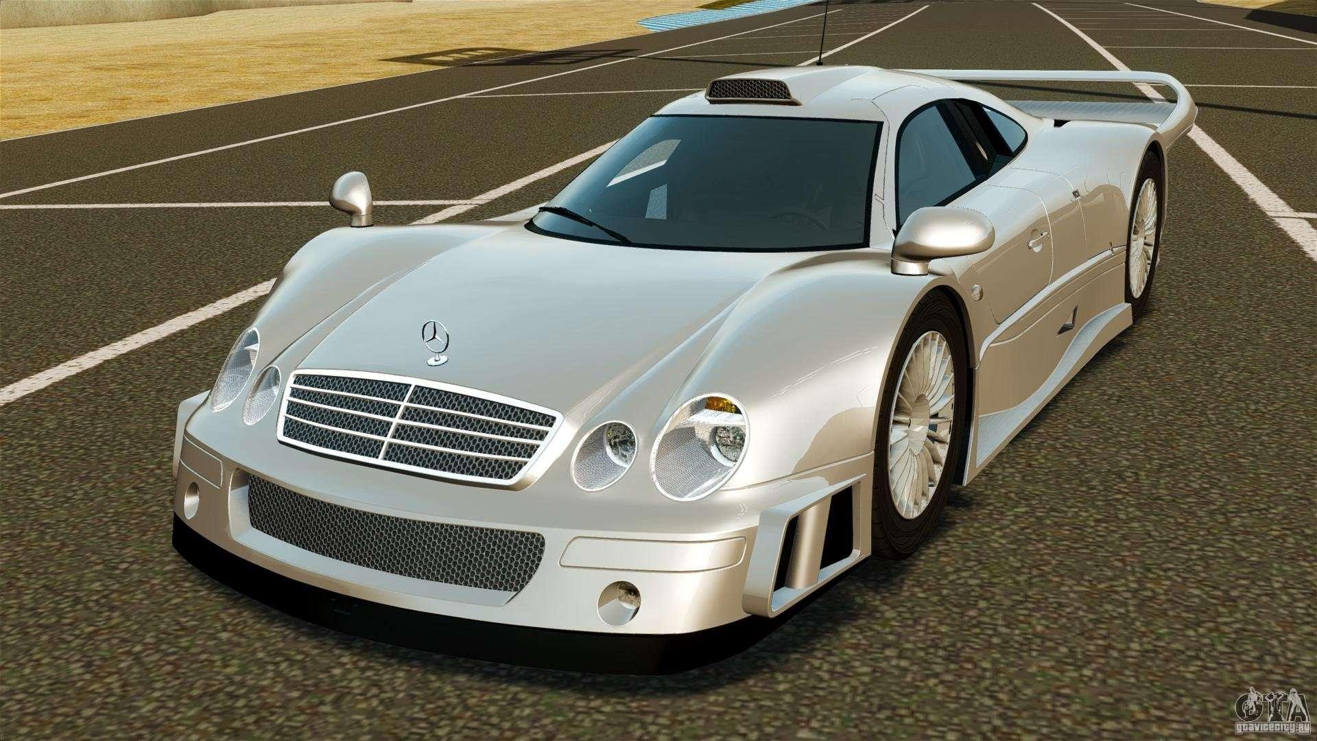 Mercedes benz clk gtr amg for gta 4 for Mercedes benz of dayton
