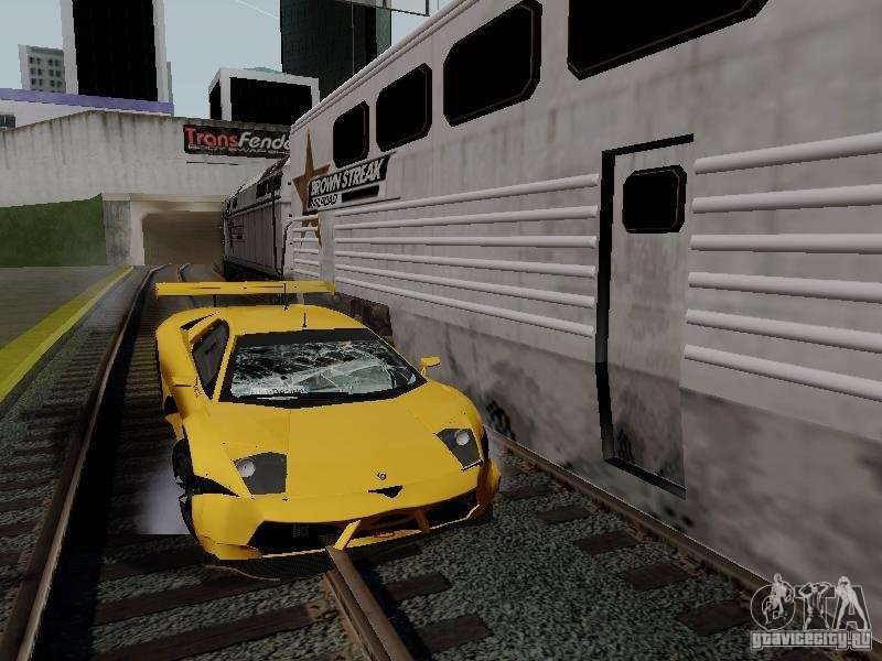 Crazy Trains MOD for GTA San Andreas