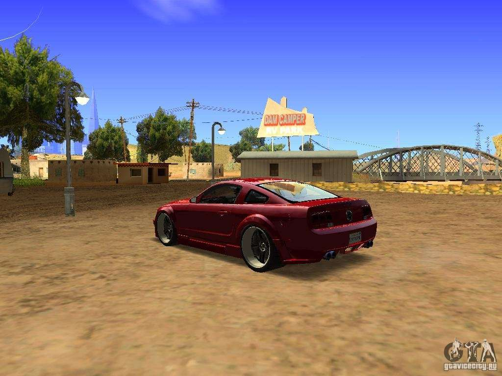 Ford Mustang GT 2005 Tuned for GTA San Andreas