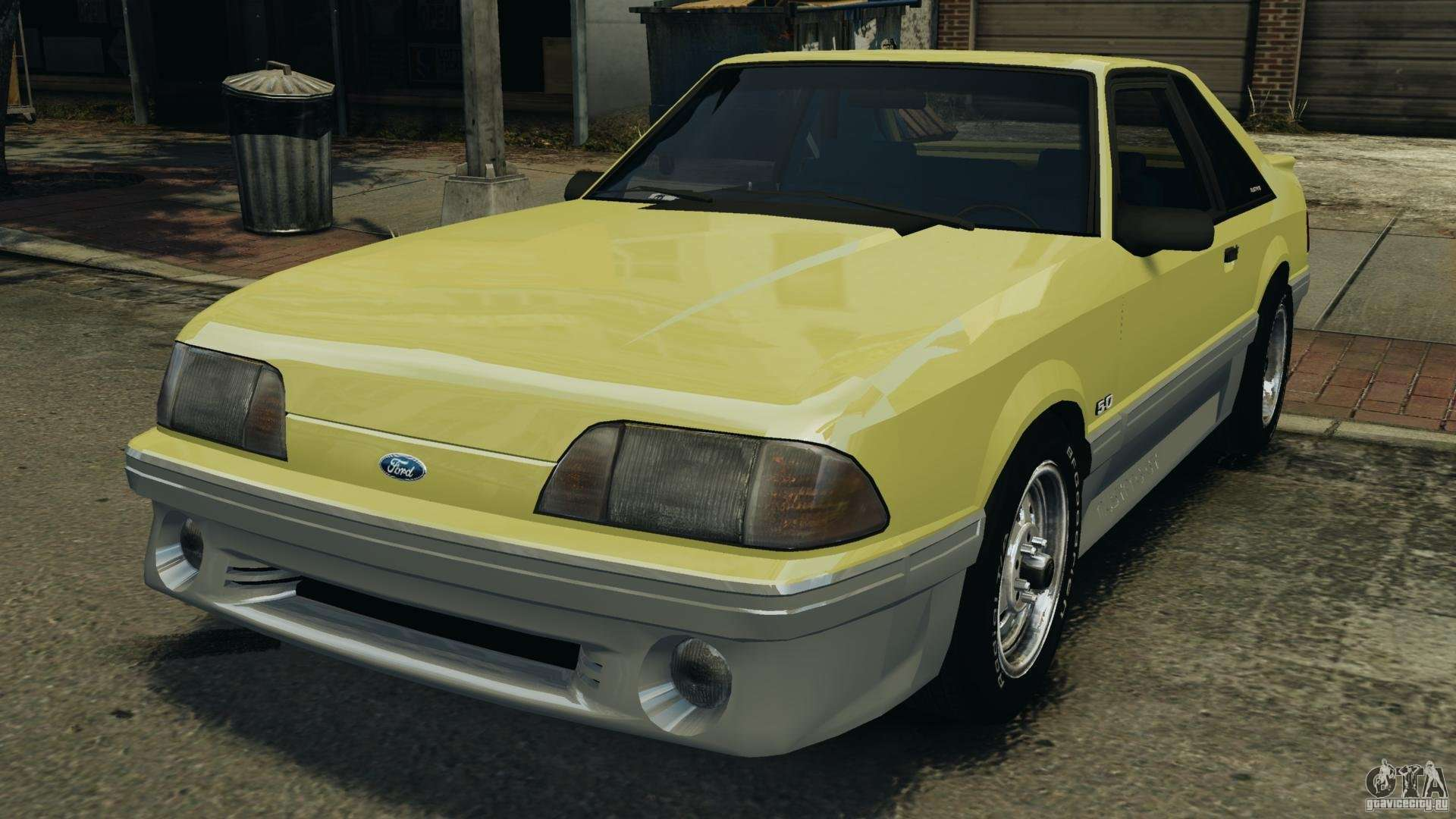 Ford Mustang Gt 1993 V1 1 For Gta 4