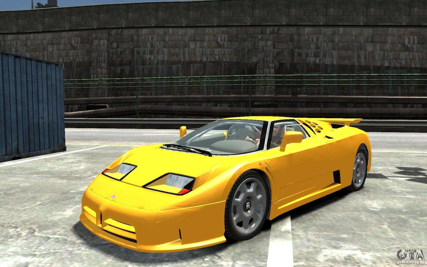 bugatti eb110 super sport for gta 4. Black Bedroom Furniture Sets. Home Design Ideas