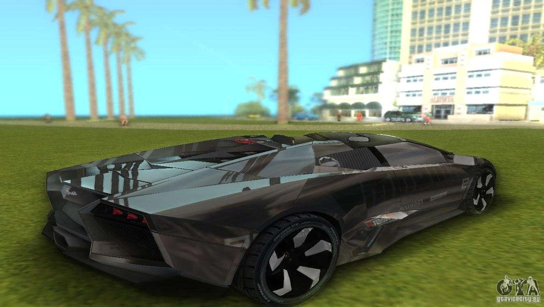 Gentil Lamborghini Reventon For GTA Vice City Right View