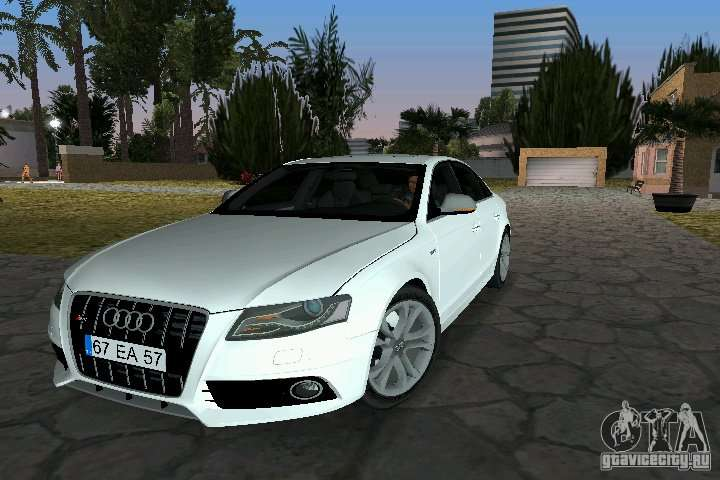 Audi S For GTA Vice City - Audi car 2010