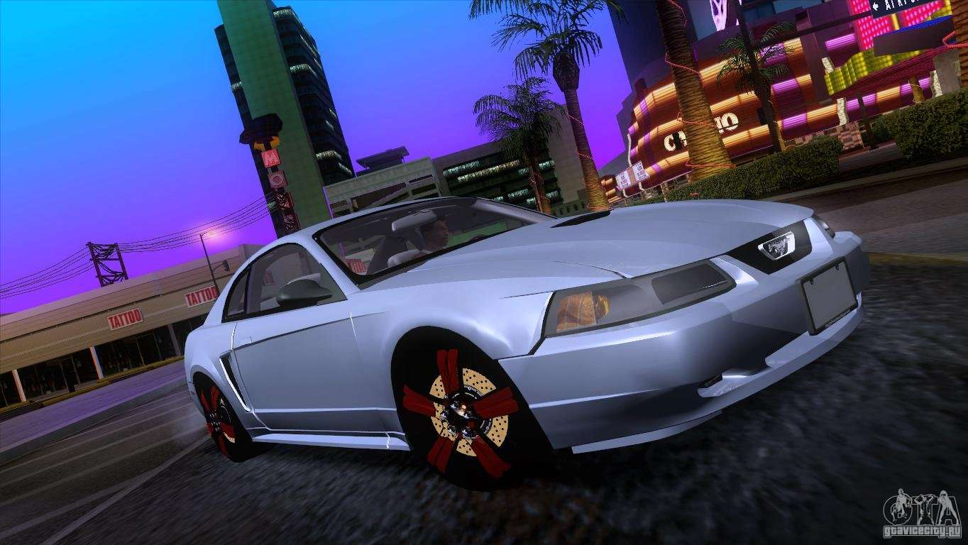 ford mustang gt 1999 for gta san andreas. Black Bedroom Furniture Sets. Home Design Ideas