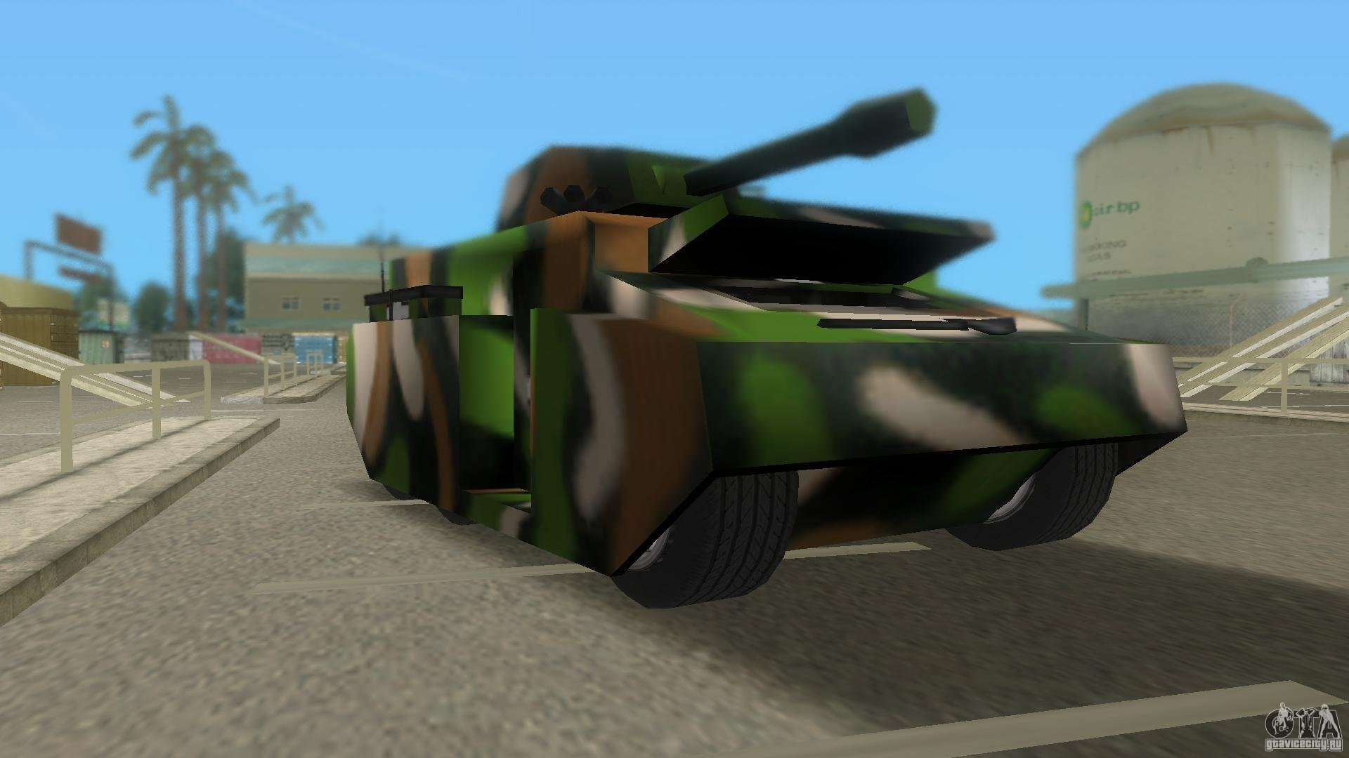 Bundeswehr Panzer For Gta Vice City