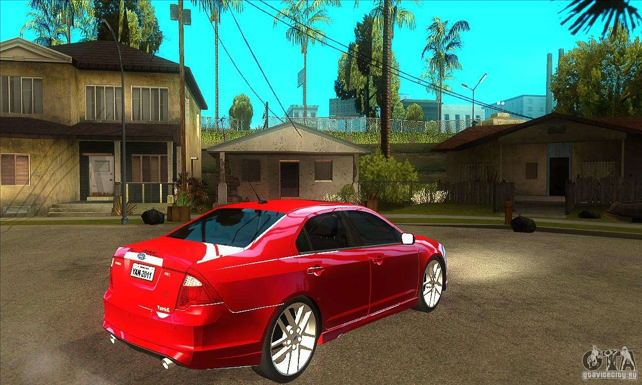 gta ford fusion hybrid andreas san sa nois added