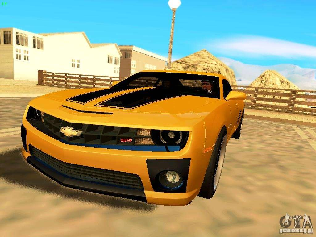 Chevrolet Camaro SS 2010 For GTA San Andreas