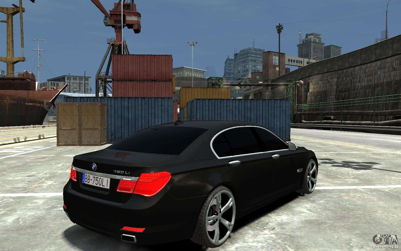 BMW 750 LI F01 V13 For GTA 4 Right View