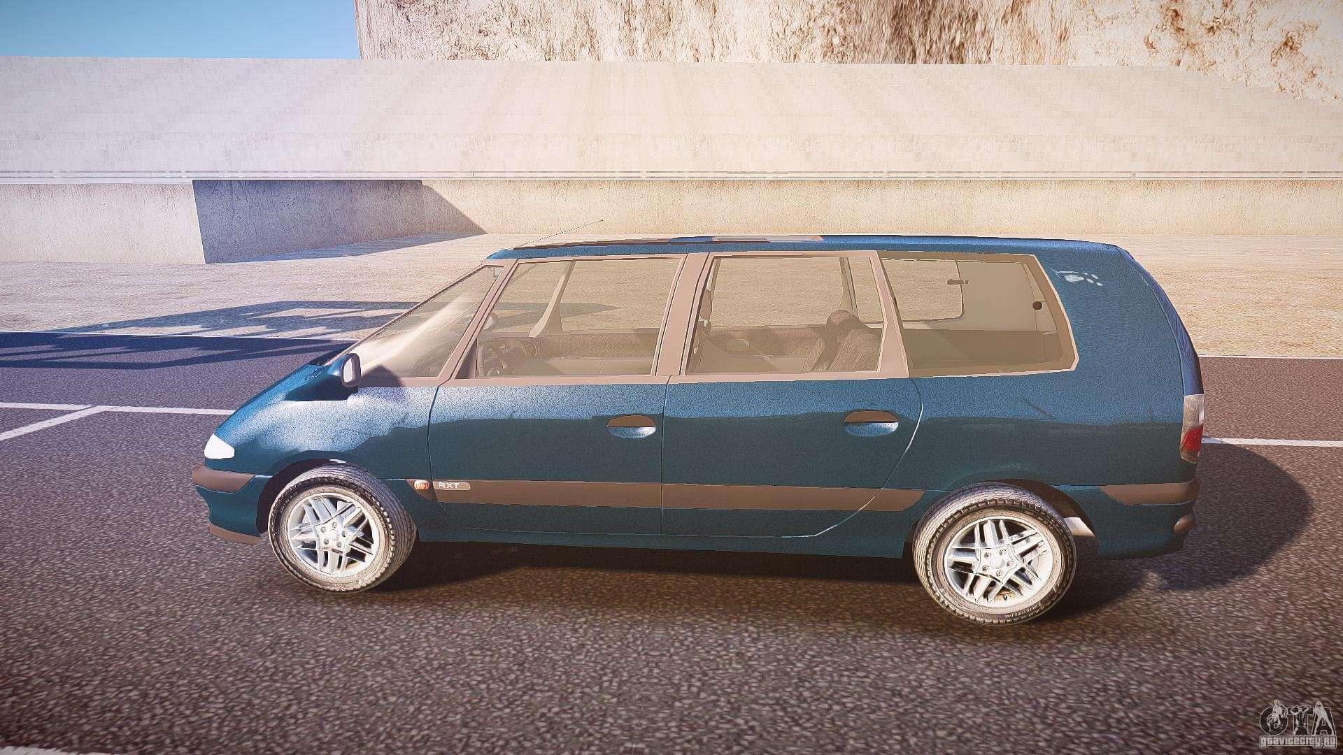 8 Passenger Minivan >> Renault Grand Espace III for GTA 4
