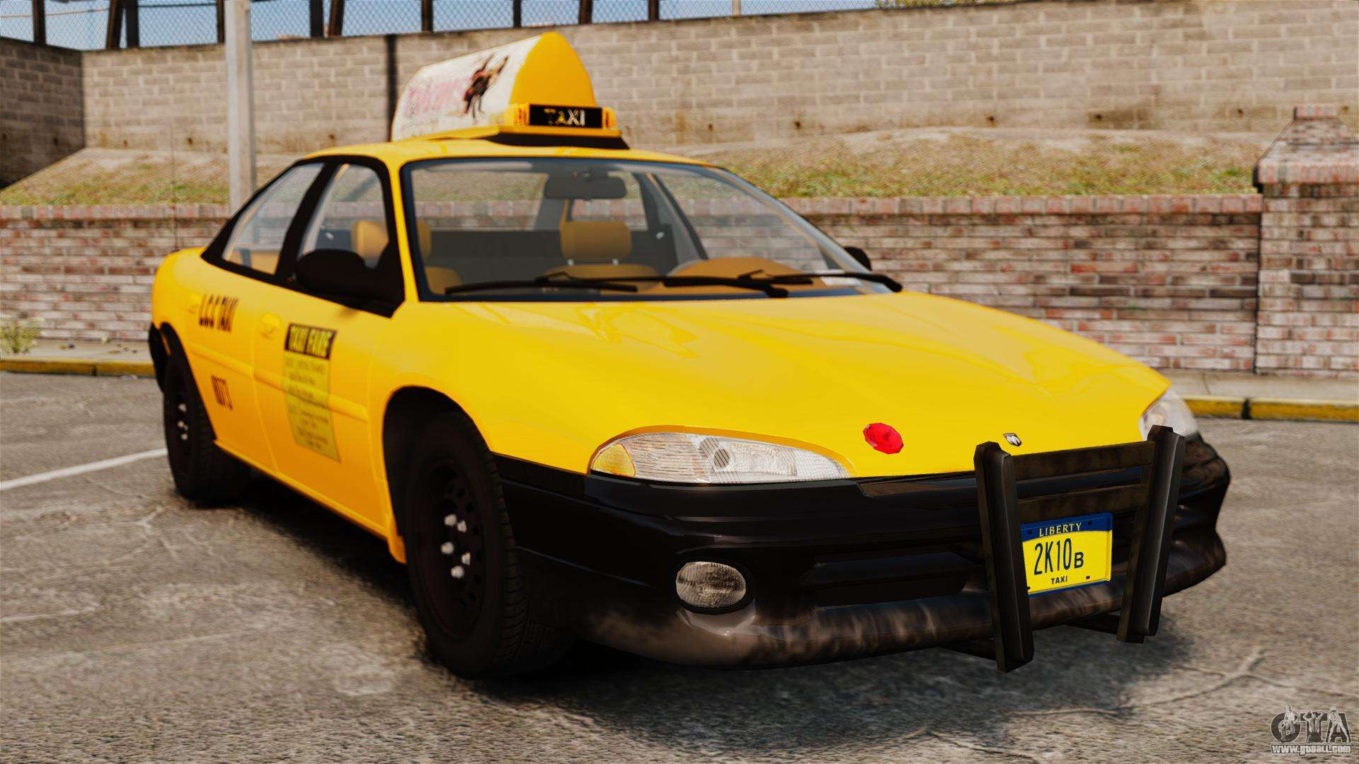 Dodge Intrepid 1993 Taxi For Gta 4